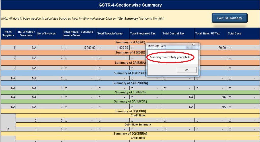GSTR 4 _Get-Summary