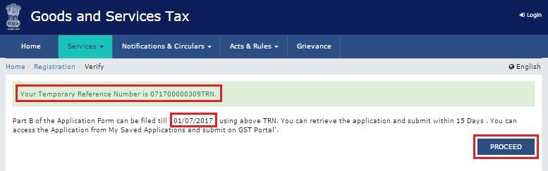 GST Practitioner Registration - TRN