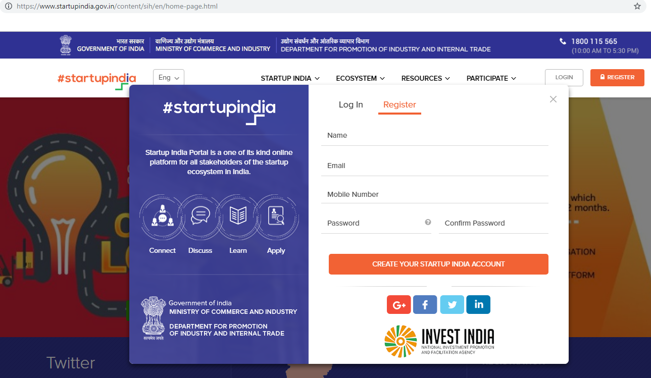 register-for-Startup-India