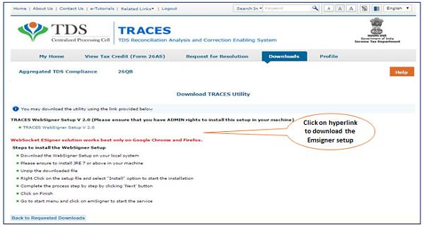 TRACES - Websoclet Emsigner Download