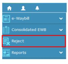 e-Way Bill - Dashboard