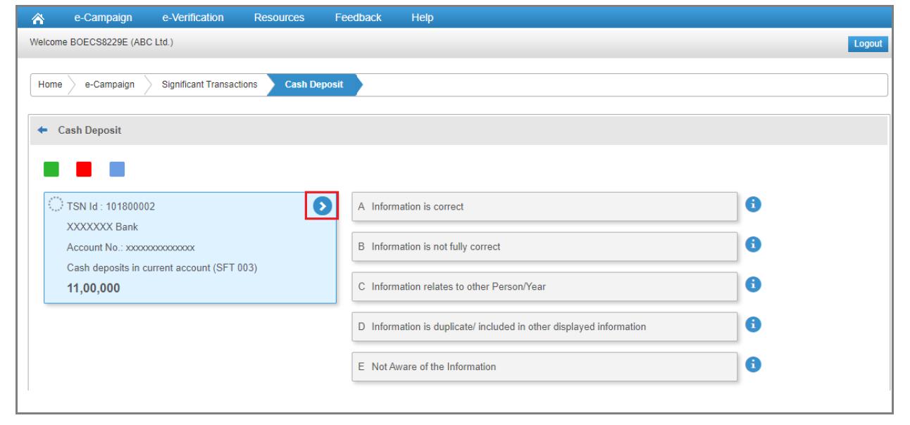 Compliance Portal - Information Details