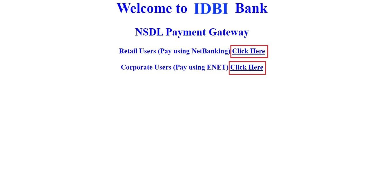 NSDL-payment-IDBI