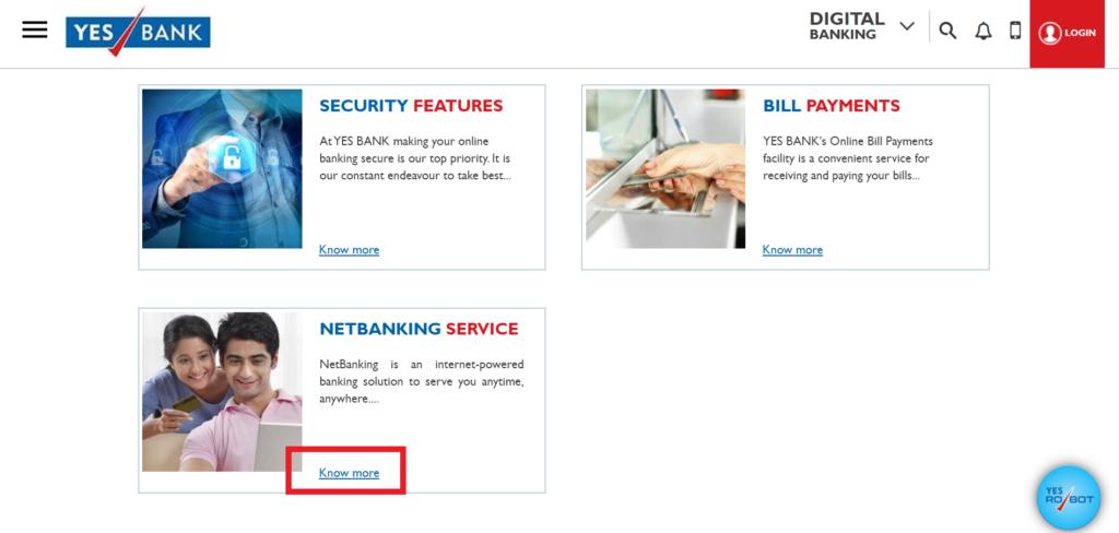 Net Banking Service