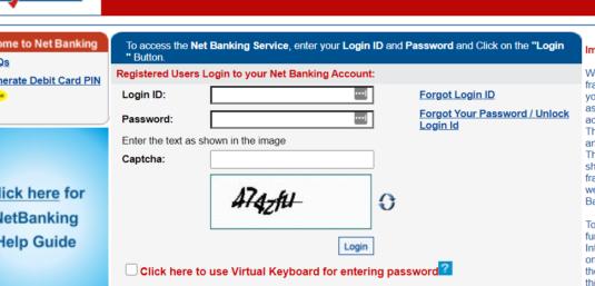 Login to Yes Bank net banking